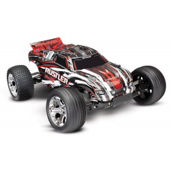 TRAXXAS RUSTLER ROCK N' ROLL - 4X2 - 1/10 BRUSHED TQ 2.4GHZ - SANS Accus/chargeur TRX37054-4