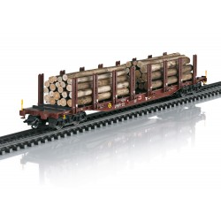 "Märklin 47146 Coffret de wagons à ranchers ""Transport de bois"""