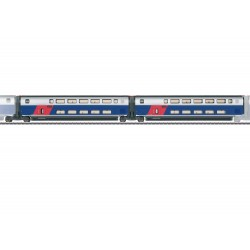 Märklin 43423 Coffret de voitures de complément 1 pour le TGV Euroduplex