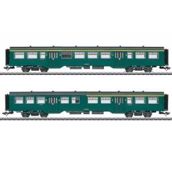 Märklin 43547 Coffret de voitures voyageurs M2 SNCB