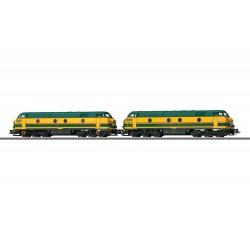 Märklin 37602 Locomotive diesel série 55 en double traction SNCB
