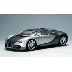 AUTOart Slot Car 1/24 Bugatti Veyron EB 16.4 AWD Lights 14152 Grey/silver