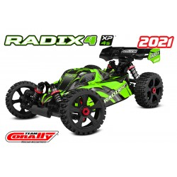 CORALLY RADIX4 MODÈLE 2021 XP 4S BRUSHLESS RTR - CORALLY - C-00186