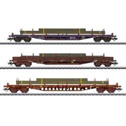 Marklin 47160 Coffret de wagons plats
