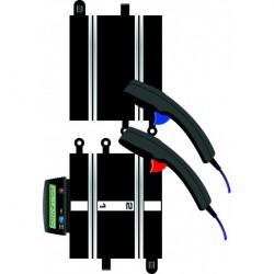 Scalextric C8530 Power & Control Base + 2 Poignées de contrôle