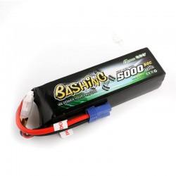 Gens ace 5000mAh 14.8V 4S1P 50C Lipo Battery Pack with EC5 Plug-Bashing Series