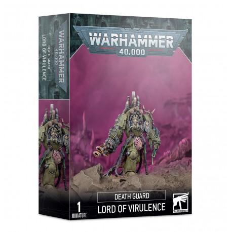 Warhammer 40k Seigneur de la Virulence