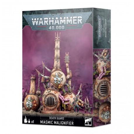 Warhammer 40k Exhausteur Miasmatique Death Guard