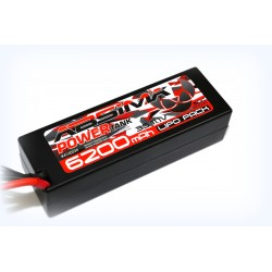 Absima Power Tank Batterie 6200Mah 3S 11,1V 60C