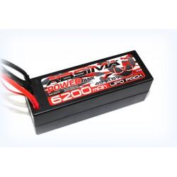 Absima Power Tank Batterie 6200Mah 4S 14,8V 60C