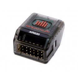 Spektrum AR620 récepteur sport DSMX 6 Voies sans antenne