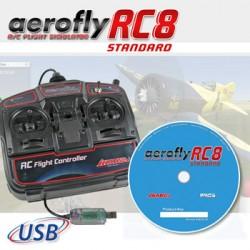 Ikarus Aerofly RC8 standard avec commande