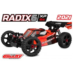 TEAM CORALLY RADIX 6 XP 6S BUGGY 1/8 BRUSHLESS RTR - C-00185