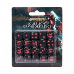 Warhammer 40k: Set de dés Soulblight Gravelords