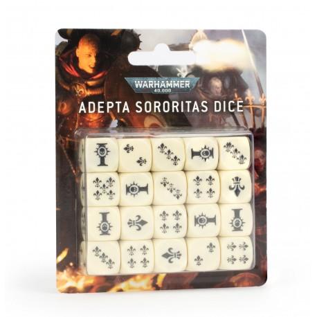 Warhammer 40k: Set de dés Adepta Sororitas