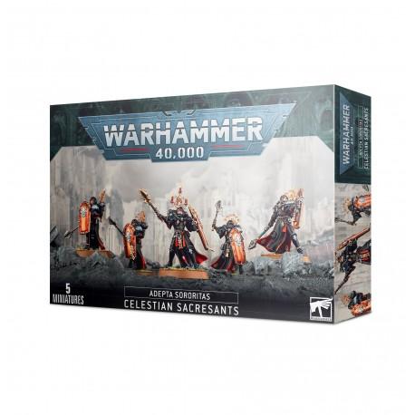 Warhammer 40k: Adepta Sororitas Célestes Sacro-saintes