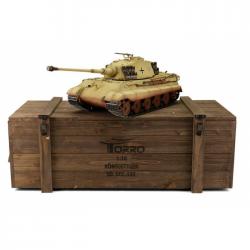 Torro Tigre Royal 1/16e Bille BB Camo Désert + Valise