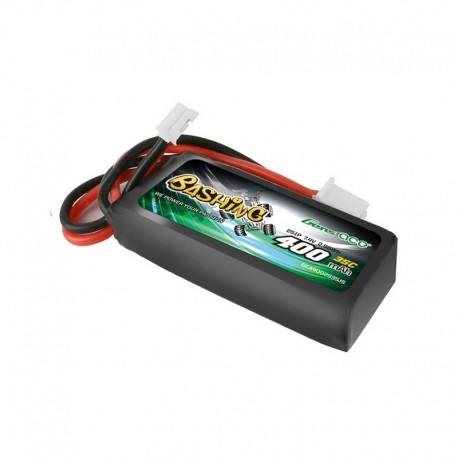 Gens ace 400mAh 7.4V 2S1P 35C Lipo Battery Pack with JST-PHR Plug-Bashing Series