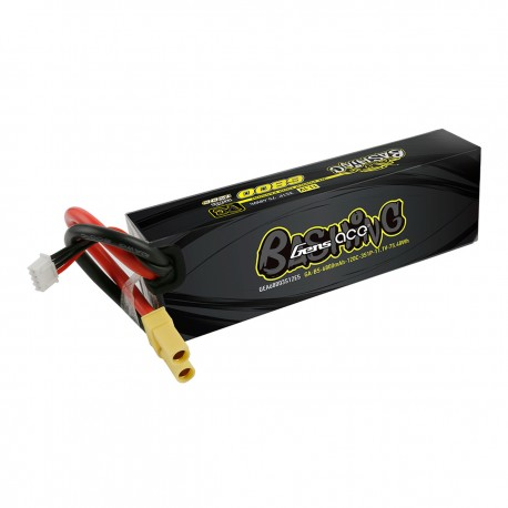 Gens ace 6800mAh 11.1V 120C 3S1P Lipo Battery Pack with EC5-Bashing Series