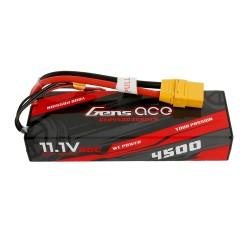 Gens ace 4500mAh 3S1P 11.1V 60C HardCase RC car Lipo Battery 24