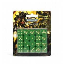 Warhammer 40k: Set de Dés Orks