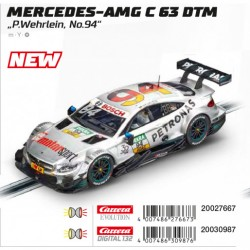 "Carrera DIGITAL 132 30987 Mercedes AMG C 63 DTM ""P.Wehrlein, No.94"""