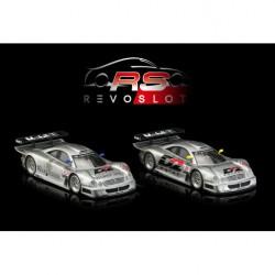 RevoSlot RS0095 Mercedes-Benz CLK GTR Twin Pack FIA GT Championship 1997