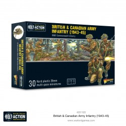 Warlord Games Infanterie de l'armée britannique et canadienne (1943-45)