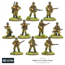 Warlord Games Escouade d'infanterie belge