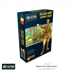 Warlord Games Groupe de soutien de l'armée belge