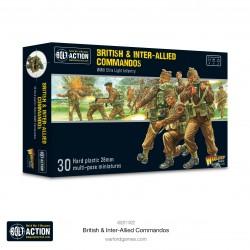Warlord Games Commandos britanniques et interalliés