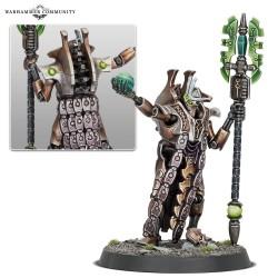 Warhammer 40k Seigneur Nécron Hasmoteph le Resplendissant