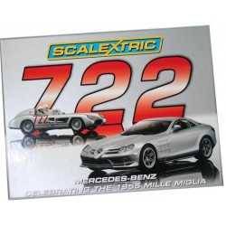 Scalextric MERCEDES BENZ SLR 722/300 SLR twin pack