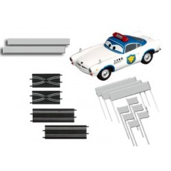 "Carrera DISNEY/PIXAR CARS 2 KIT D'EXTENSION / VÉHICULES ""SECURITY FINN MCMISSILE"" 61660"