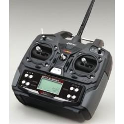 Hitec Optic 6 Sport 2.4 Ghz M1 avec 3xservos HS-55