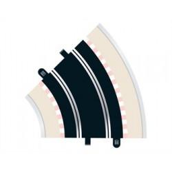 Scalextric Radius 2 courbe 45° x 2