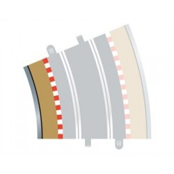 Scalextric Radius 4 bordure intérieure courbe 22.5° x 4
