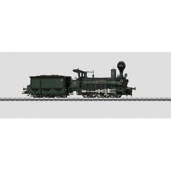 37981 locomotive à vapeur avec tender séparé
