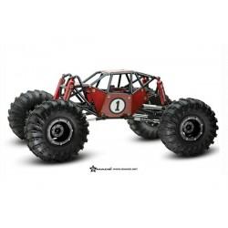 Gmade Crawler R1 Rock Buggy - Prémonté ARTR (Rouge)