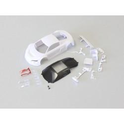 Kyosho Audi R8LMS White body set w/ Night Race Mini-Z à peindre