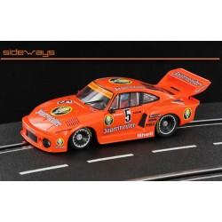 Sideways Porsche 953/77a DRM '78
