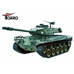 Torro RC M41 Walker Bulldog 2.4 GHz-Edition Airbrush & chenilles métalliques
