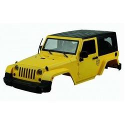 AMEWI Carrosserie Jeep Rubicon Scale realistic 1:10 Jaune