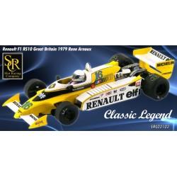 SRC Renault RS10 GP Gran Bretaña 1979 - René Arnoux