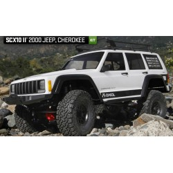 Axial SCX10 II™ 2000 Jeep® Cherokee 1/10th Scale Electric 4WD – Kit