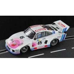 Sideways Porsche 935 K2 Ricoh Kremer Le Mans 24hrs 1978