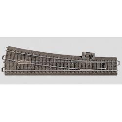 24001 extrémité de lit de ballast