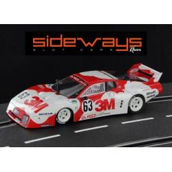 Sideways Ferrari 512BB 3M Le Mans 1979