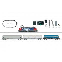 """Minitrix 11141 Kit de démarrage numérique """"Train de marchandises"""""""